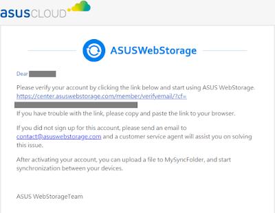 Cara Mendaftar Asus Cloud Storage Indonesia