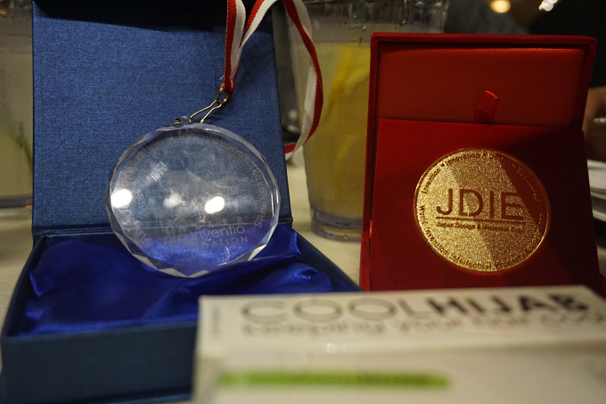 Gold Medal 2016 Japan Design & Invention Expo-JDIE