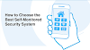 How to Choose the Best Self-Monitored Home Security System #infographic