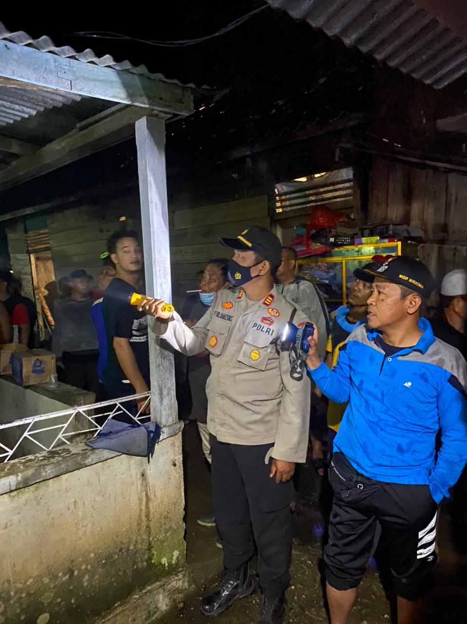 Kebakaran di Muara Rupit, Wabup Muratara Turun Langsung
