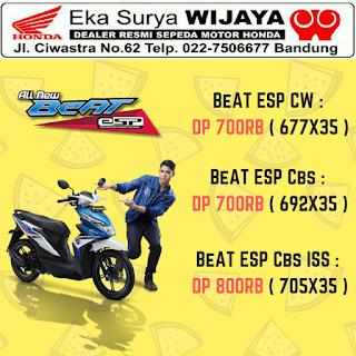 Harga Promo Motor Honda Beat Bandung
