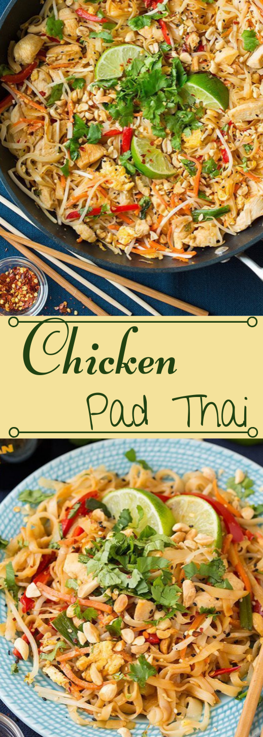 Pad Thai #dinner #thai #healthylunch #easy #recipes