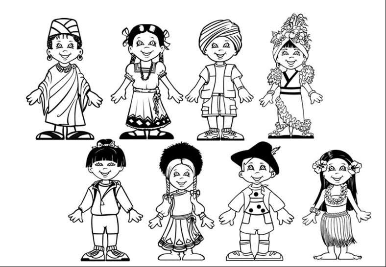 Grupos Indigenas Para Colorear Imagui