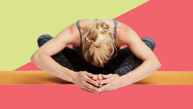 gerakan yoga postur Bintang