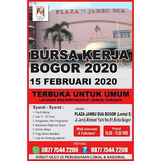 Bursa Kerja Plaza Jambu Dua Bogor 2020 Lockerjob