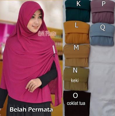 Grosir Jilbab Belah Samping