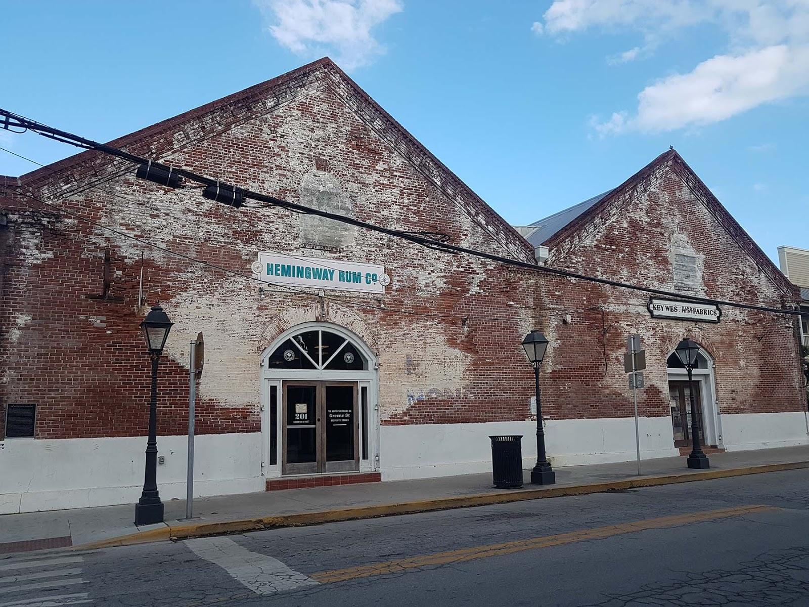 Hemingway Rum Company, Key West