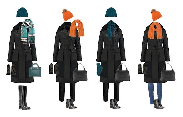 Комплекты со стеганым пальто