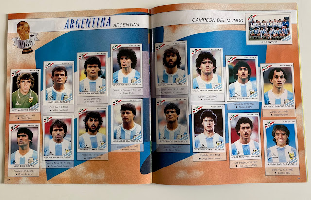 figurine argentina 86 world cup story