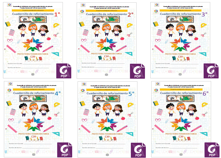 Semana 27 - Multigrado - Aprende en Casa SEP - Cuadernillo de Actividades de Aprende en Casa SEP