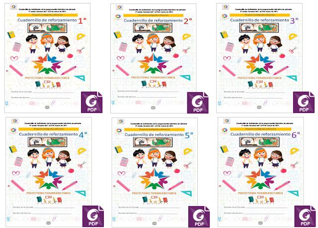 Aprende en Casa SEP - Cuadernillo de Actividades de Aprende en Casa SEP - Multigrado - Semana 29