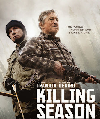 Poster Of Killing Season In Dual Audio Hindi English 300MB Compressed Small Size Pc Movie Free Download Only At worldfree4u.com