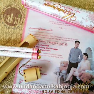 Undangan Nikah Eksklusif Pink Princess Beauty