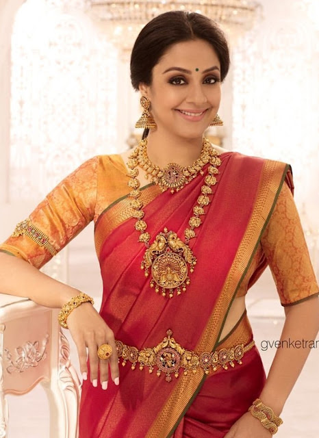 Jyothika Antique Temple Jewellery