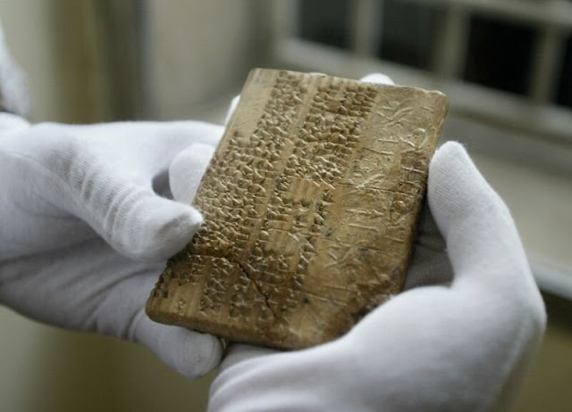 Achaemenid-era clay tablets returned to Iran after 84 years