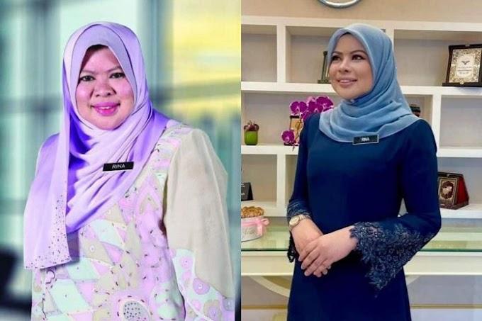 Sejak Jadi Menteri,Rina Harun Makin Jelita Jadi Perhatian Di Twitter