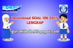 Download Soal UN SMP 2015 Lengkap