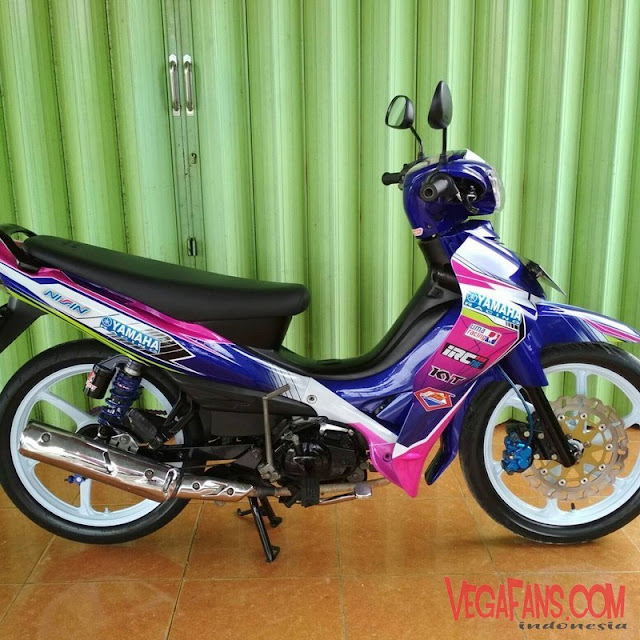 Modifikasi Jupiter Z Road Race Simple