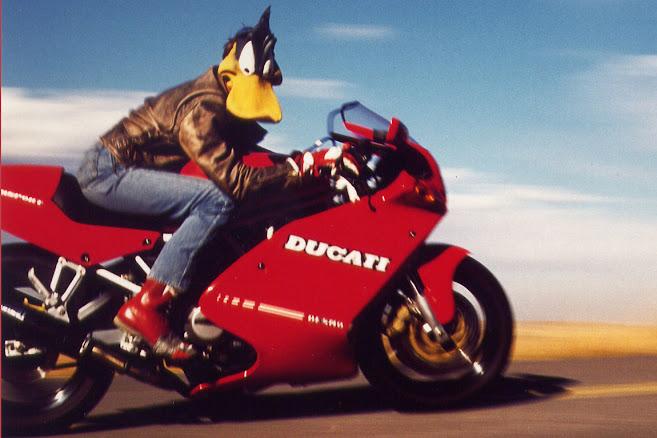 Duck You Sucker - 1992 Ducati 900 SS - Image Kevin Vesel via motorcycle.com