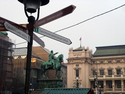 Belgrade Republic Square by Igor L.