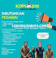 Karir Surabaya di Kopi Joss Warung Millenial Oktober 2019