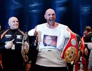 Tyson Fury tests positive for cocaine