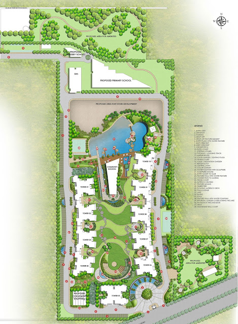 Site Plan - M3M The Marina