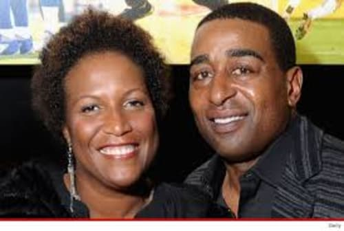 Cris Carter And His Former Wife