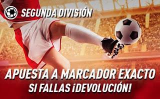 sportium promo Segunda División 10-11 octubre 2020