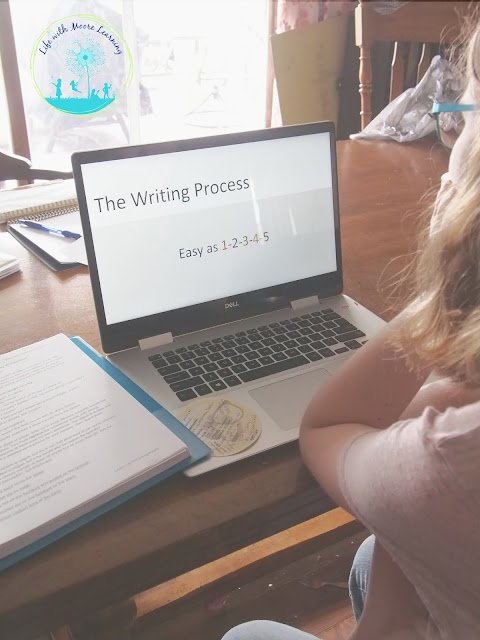 Homeschool, online writing course for teens