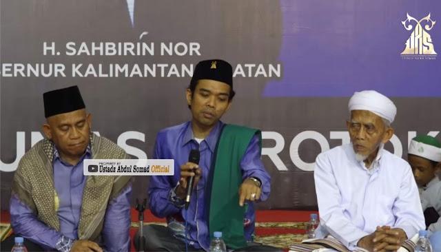 Menag Mau Larang Cadar dan Komentar 'Lucu' Ustadz Abdul Somad