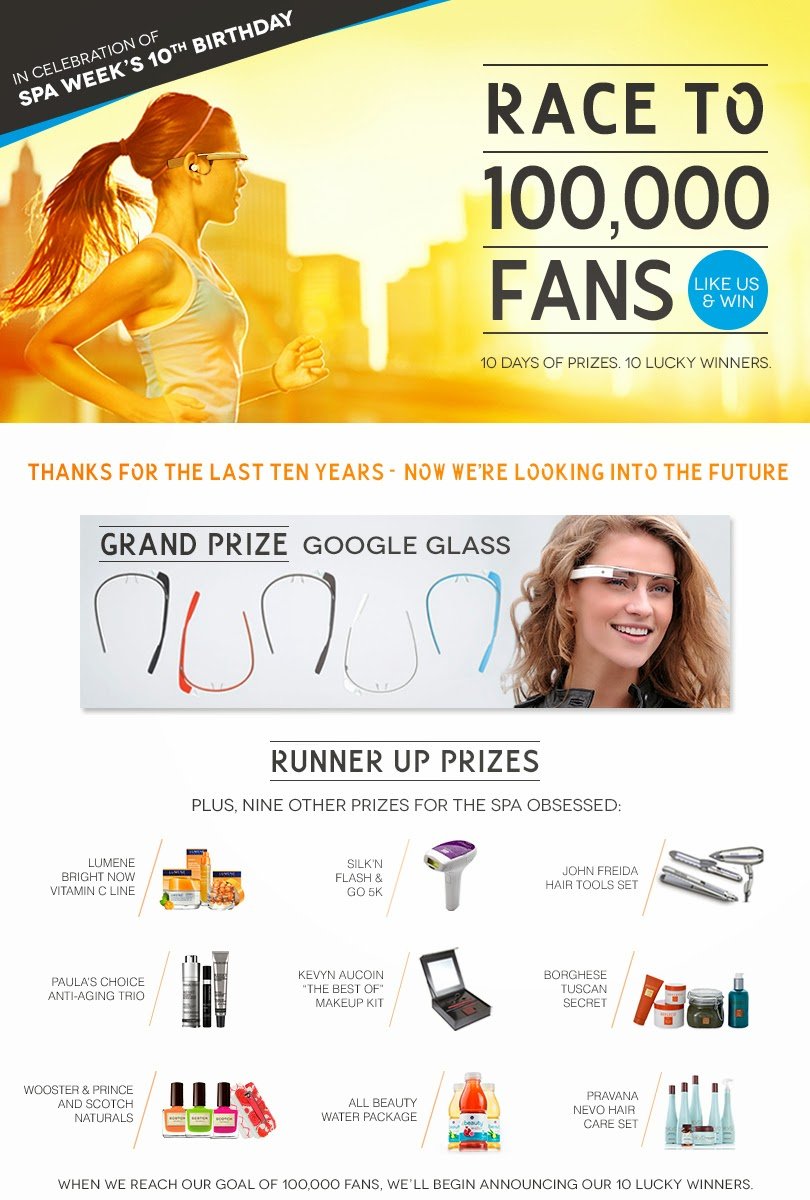 Enter to win your own Google Glass, til 4/30 or 100K fans
