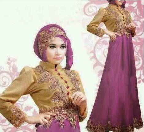 model kebaya brokat muslim modern