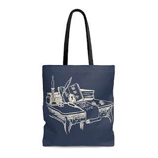 Literary Book Gifts - Jane Austen Tote Bag