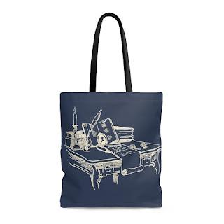 Literary Book Gifts - Jane Austen Tote Bag