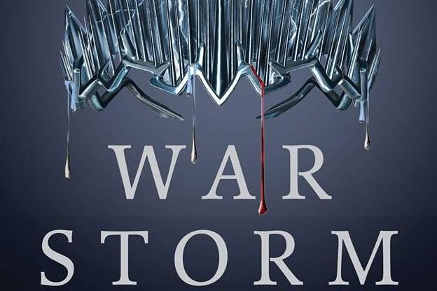 Divulgada a capa de War Storm, último livro da série A Rainha Vermelha