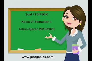 Contoh Soal PTS / UTS PJOK Kelas 6 Semester 2 Terbaru 2019/2020