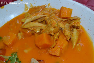 Chicken orange casserole