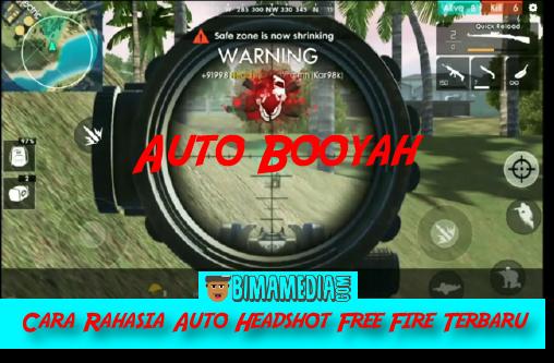 Cara Rahasia Auto Headshot Free Fire Terbaru