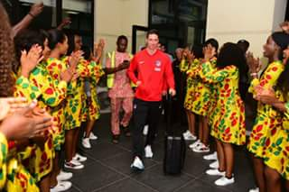 Atletico Madrid arrive Nigeria ahead of Super Eagles friendly  (Photos)