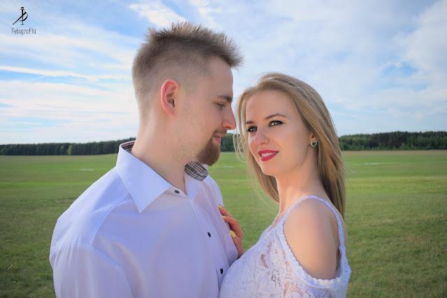 Sesja narzeczeńska - Paulina i Tomek