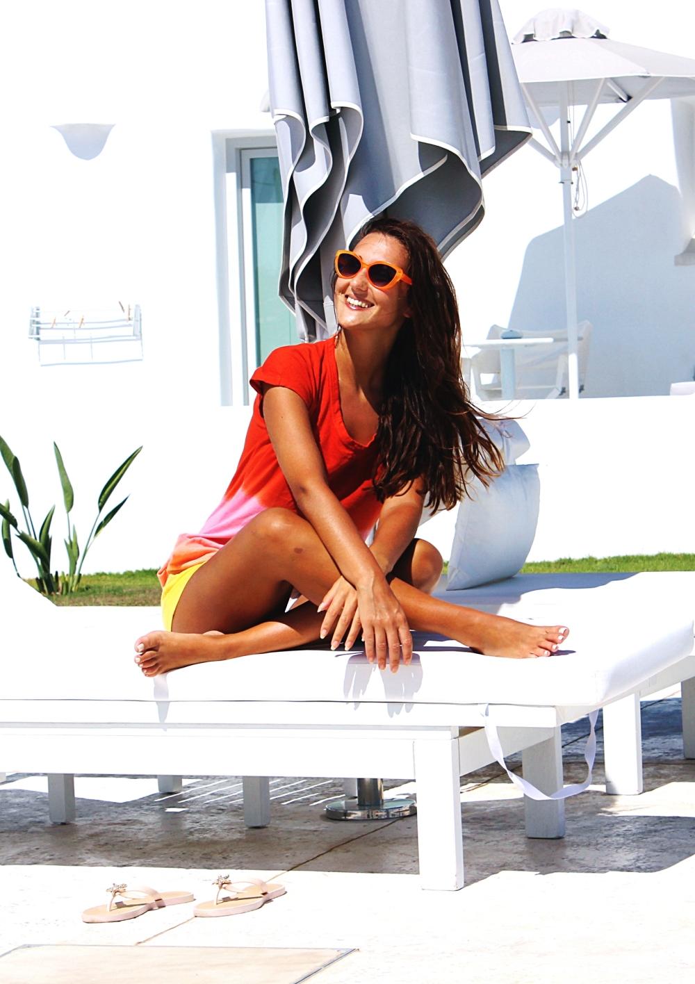 travel girl lifestyle, White Dunes suites Paros island hotel