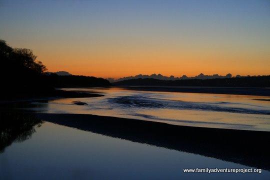 Sunset in Arnside Estuary