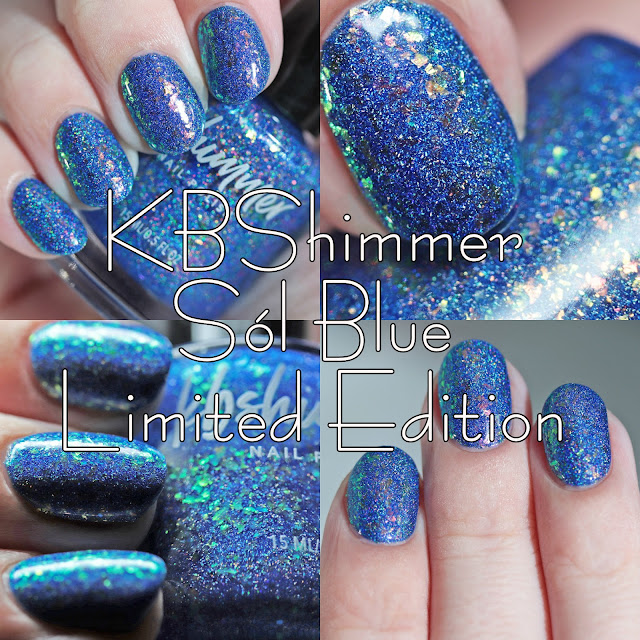 KBShimmer Sól Blue Limited Edition