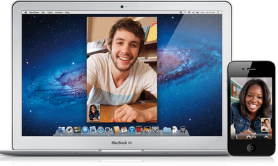 Apple's Facetime, free WIFI video calling on iPhone, iPad, iPod Touch