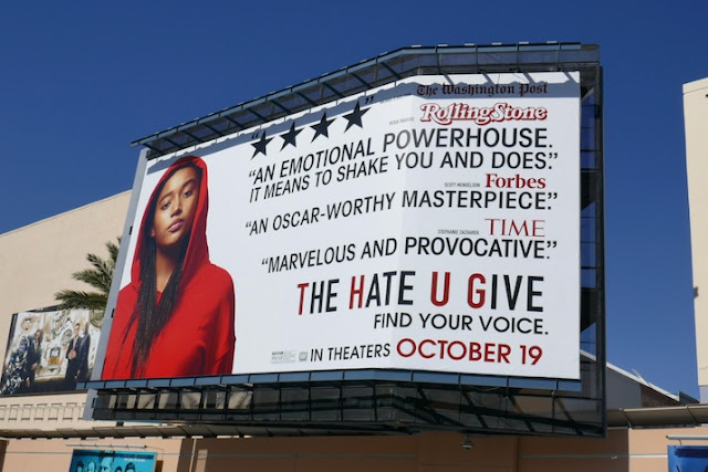 Hate U Give film billboard