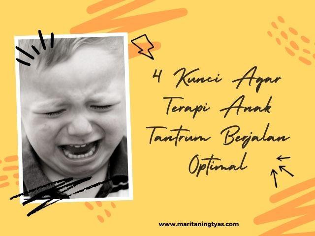 4 kunci terapi anak tantrum