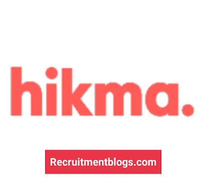 Medical Representatives - All Governorates At Hikma Pharmaceuticals