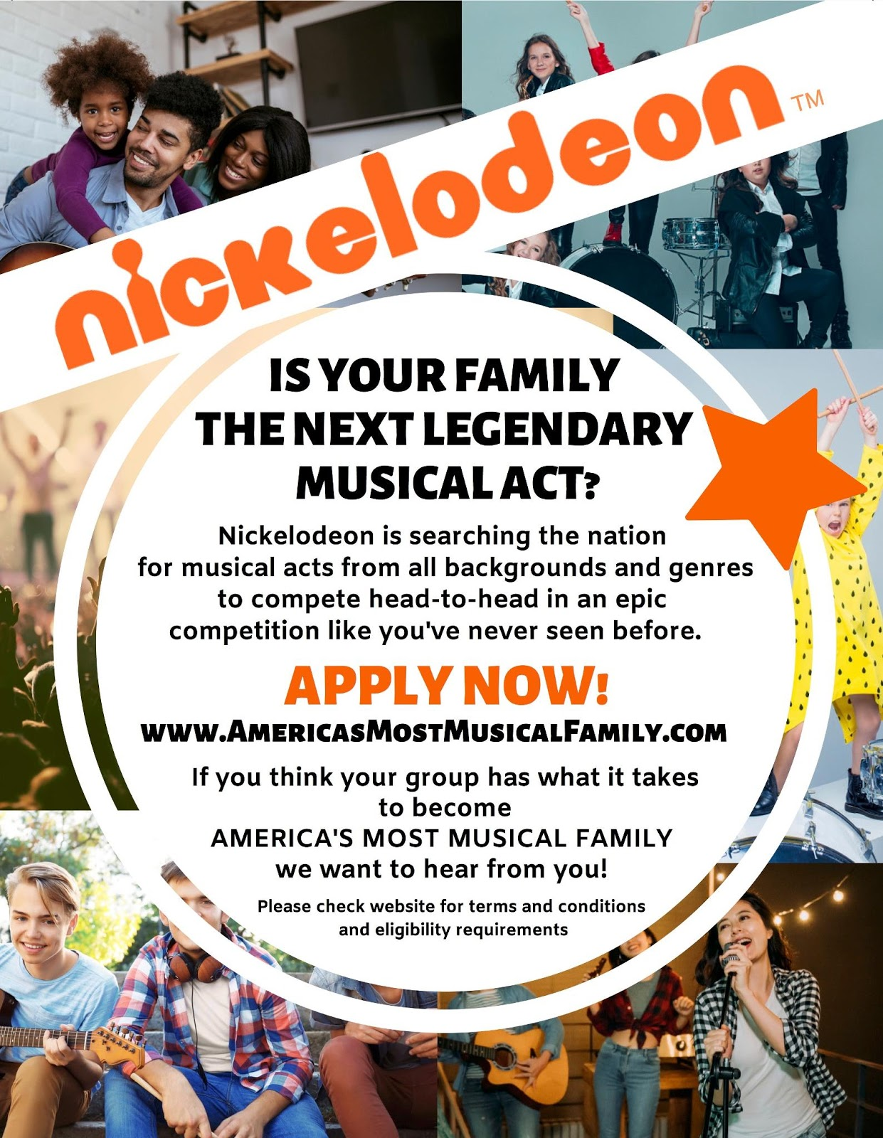 All That Reboot Nickelodeon Auditions : reboot, nickelodeon, auditions, NickALive!:, Nickelodeon, Looking, Musical, 'America's, Family', Casting, Auditions