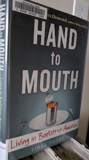 Book cover to Hand to Mouth by Linda Tirado